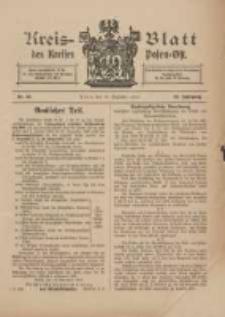Kreis-Blatt des Kreises Posen-Ost 1910.12.17 Jg.22 Nr52