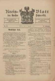 Kreis-Blatt des Kreises Posen-Ost 1910.12.31 Jg.22 Nr54