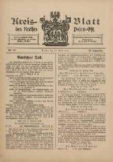 Kreis-Blatt des Kreises Posen-Ost 1912.04.13 Jg.24 Nr15