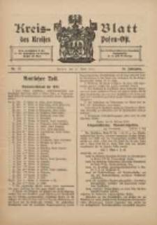 Kreis-Blatt des Kreises Posen-Ost 1912.04.27 Jg.24 Nr17