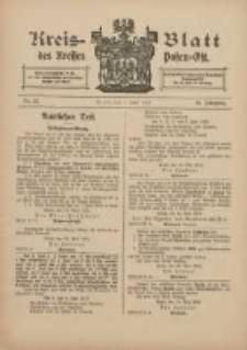Kreis-Blatt des Kreises Posen-Ost 1912.06.01 Jg.24 Nr22