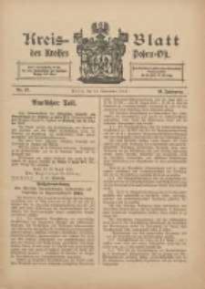 Kreis-Blatt des Kreises Posen-Ost 1912.09.14 Jg.24 Nr37