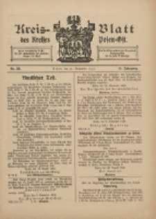 Kreis-Blatt des Kreises Posen-Ost 1912.09.21 Jg.24 Nr38