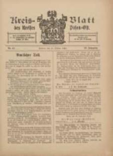 Kreis-Blatt des Kreises Posen-Ost 1912.10.12 Jg.24 Nr41