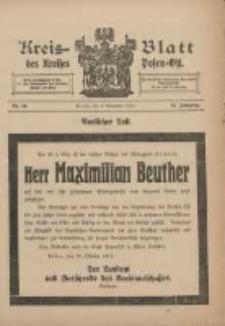 Kreis-Blatt des Kreises Posen-Ost 1912.11.02 Jg.24 Nr44