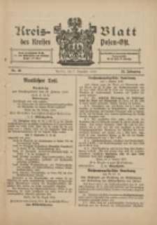 Kreis-Blatt des Kreises Posen-Ost 1912.12.07 Jg.24 Nr49