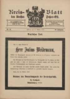 Kreis-Blatt des Kreises Posen-Ost 1913.10.18 Jg.25 Nr43