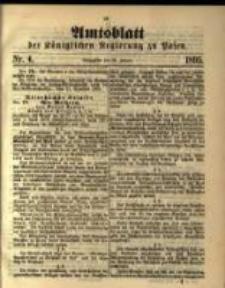 Amtsblatt der Königlichen Regierung zu Posen. 1895.01.22 Nro.4