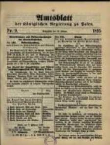 Amtsblatt der Königlichen Regierung zu Posen. 1895.02.19 Nro.8