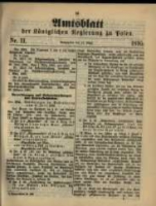 Amtsblatt der Königlichen Regierung zu Posen. 1895.03.12 Nro.11
