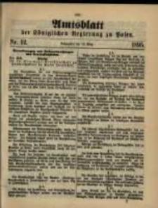 Amtsblatt der Königlichen Regierung zu Posen. 1895.03.19 Nro.12