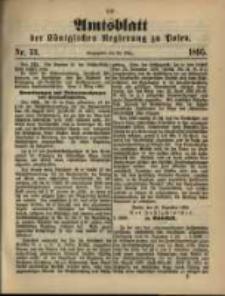 Amtsblatt der Königlichen Regierung zu Posen. 1895.03.26 Nro.13