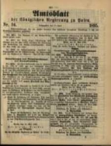 Amtsblatt der Königlichen Regierung zu Posen. 1895.06.11 Nro.24