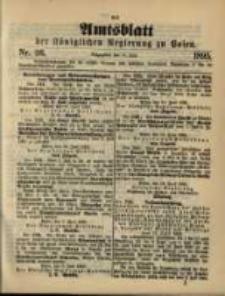 Amtsblatt der Königlichen Regierung zu Posen. 1895.06.25 Nro.26