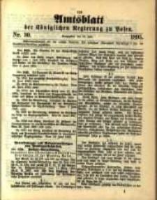 Amtsblatt der Königlichen Regierung zu Posen. 1895.07.23 Nro.30