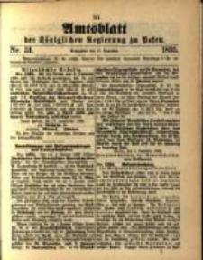 Amtsblatt der Königlichen Regierung zu Posen. 1895.12.10 Nro.50