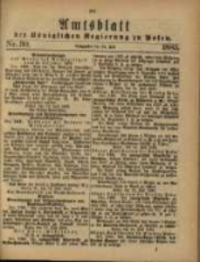Amtsblatt der Königlichen Regierung zu Posen. 1883.06.24 Nro.30