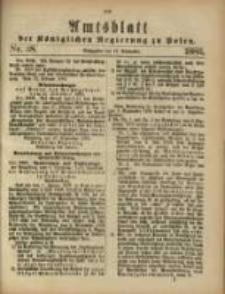 Amtsblatt der Königlichen Regierung zu Posen. 1883.09.18 Nro.38