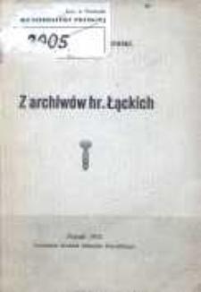Z archiwów hr. Łąckich