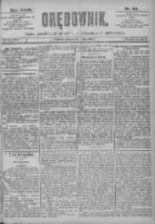 Orędownik: pismo dla spraw politycznych i spółecznych 1897.05.01 R.27 Nr99