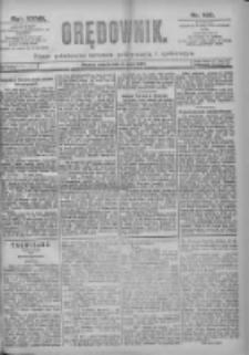Orędownik: pismo dla spraw politycznych i spółecznych 1897.05.08 R.27 Nr105