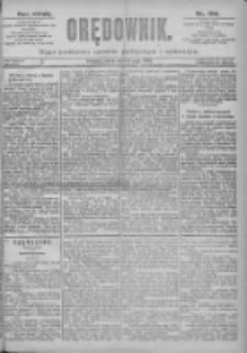 Orędownik: pismo dla spraw politycznych i spółecznych 1897.05.14 R.27 Nr109