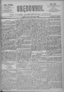 Orędownik: pismo dla spraw politycznych i spółecznych 1897.05.15 R.27 Nr110