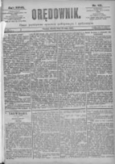 Orędownik: pismo dla spraw politycznych i spółecznych 1897.05.18 R.27 Nr112