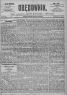 Orędownik: pismo dla spraw politycznych i spółecznych 1897.05.20 R.27 Nr114