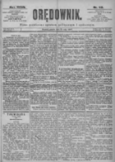 Orędownik: pismo dla spraw politycznych i spółecznych 1897.05.21 R.27 Nr115