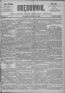 Orędownik: pismo dla spraw politycznych i spółecznych 1897.05.25 R.27 Nr118
