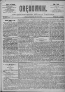 Orędownik: pismo dla spraw politycznych i spółecznych 1897.05.26 R.27 Nr119