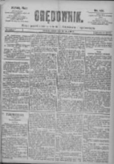 Orędownik: pismo dla spraw politycznych i spółecznych 1897.05.29 R.27 Nr121