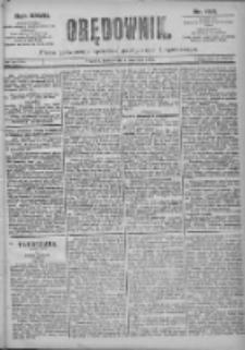 Orędownik: pismo dla spraw politycznych i spółecznych 1897.06.02 R.27 Nr124