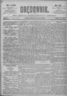 Orędownik: pismo dla spraw politycznych i spółecznych 1897.06.04 R.27 Nr126