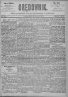 Orędownik: pismo dla spraw politycznych i spółecznych 1897.06.06 R.27 Nr128