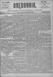Orędownik: pismo dla spraw politycznych i spółecznych 1897.06.13 R.27 Nr133