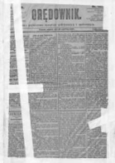 Orędownik: pismo dla spraw politycznych i spółecznych 1897.06.29 R.27 Nr145