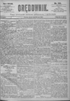 Orędownik: pismo dla spraw politycznych i spółecznych 1897.07.13 R.27 Nr156