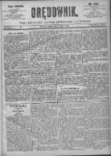 Orędownik: pismo dla spraw politycznych i spółecznych 1897.07.17 R.27 Nr160