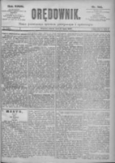 Orędownik: pismo dla spraw politycznych i spółecznych 1897.07.27 R.27 Nr168