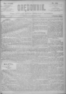 Orędownik: pismo dla spraw politycznych i spółecznych 1897.07.28 R.27 Nr169