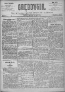 Orędownik: pismo dla spraw politycznych i spółecznych 1897.07.30 R.27 Nr171