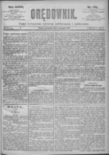 Orędownik: pismo dla spraw politycznych i spółecznych 1897.08.01 R.27 Nr173