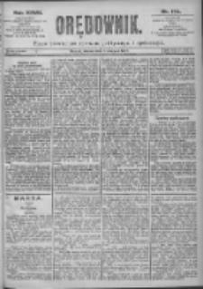 Orędownik: pismo dla spraw politycznych i spółecznych 1897.08.03 R.27 Nr174