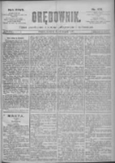 Orędownik: pismo dla spraw politycznych i spółecznych 1897.08.05 R.27 Nr176