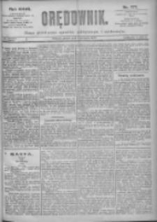 Orędownik: pismo dla spraw politycznych i spółecznych 1897.08.06 R.27 Nr177