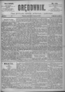 Orędownik: pismo dla spraw politycznych i spółecznych 1897.08.07 R.27 Nr178