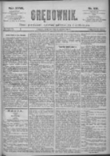 Orędownik: pismo dla spraw politycznych i spółecznych 1897.08.15 R.27 Nr185