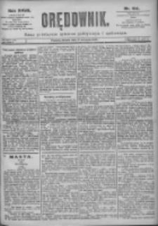 Orędownik: pismo dla spraw politycznych i spółecznych 1897.08.17 R.27 Nr186